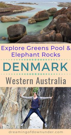 Explore beautiful Denmark Australia and enjoy Greens Pool, Elephant Rocks and amazing beaches in Western Australia! Just a few hours' drive from Perth. Perth Western Australia, Visit Australia, Australia Travel, Queensland Australia, Westerns, Scuba Diving Australia, Holiday Places, Holiday Destinations, Travel Destinations