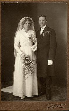 1916 wedding portrait