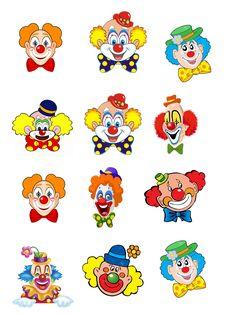 les gommettes - cirque clown
