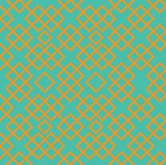 trellis retro bright fabric by ravynka on Spoonflower - custom fabric