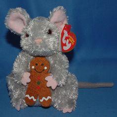 Ty Beanie Baby Stirring - MWMT (Mouse 2006) Gingerbread  TY  BeanieBaby  Beanie 034b081898ef