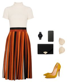 Sunday Church by desiree-gomez-1 on Polyvore featuring Staud, Givenchy, Christian Louboutin, MICHAEL Michael Kors, Christian Dior and Apple