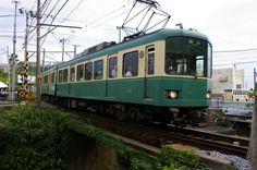 江ノ島電鉄(七里ヶ浜駅)
