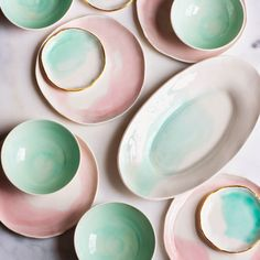 Watercolour Ceramics - Suite One Studio - The Awesome