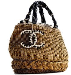Chanel basket handbag