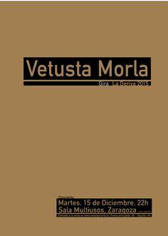 Cartel Vetusta Morla - Opción 2