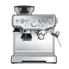 ESPRESSO CAPPUCCINO BREVILLE BES870XL MILL  $  19,990  Professional coffee maker, prepares cappuccino, americano and espresso coffee, includes grinder, for an instant grind in each café.Breville Bes870XL / Mill. #CoffeeGrindersBest