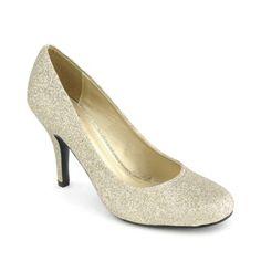 $11.99 for about 4 inch shoe. Shiekh Women's Kevel-H Low Heel Pump