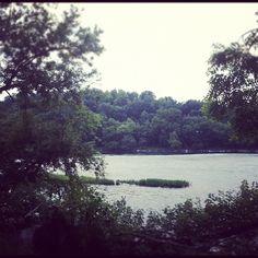 New River in Radford, Va. This is my backyard