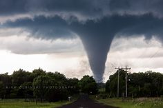 Tornado near Wynnewood by Mike Olbinski Photography