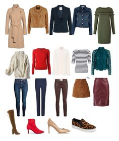 """Autumn colour Palette - Capsule wardrobe"" by stylistlindsaypunch on Polyvore featuring Ted Baker, River Island, H&M, Victoria, Victoria Beckham, J Brand, Oasis, STELLA McCARTNEY, Isabel Marant, John Lewis and Whistles"