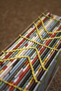 chain stitch binding