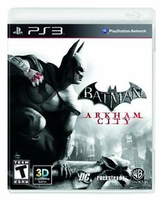 Batman: Arkham City: http://www.amazon.com/Batman-Arkham-City-Playstation-3/dp/B002I0F5M8/?tag=2012lifestyle-20