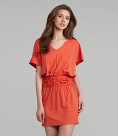 M.S.S.P. Jersey Braid-Waist Dress | Dillard's Mobile