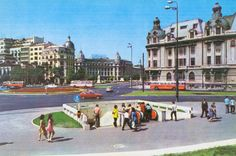 Universitate 1971 Socialist State, Socialism, Warsaw Pact, Central And Eastern Europe, Bucharest Romania, Soviet Union, Old City, Old Pictures, Time Travel