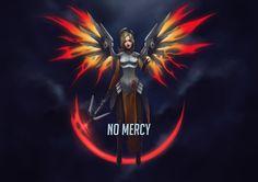No Mercy (Overwatch Wallpaper Fan Art) by ArtmanceR