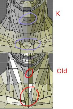 3d топология old new