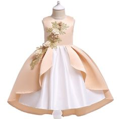 c1d74d533 Flower Girls Dresses Toddler Kids Patchwork Fancy Dress For On Sale -  NewChic Mobile