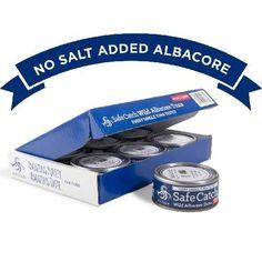 Safe Catch Wild Albacore Tuna No Salt Added (12x5 Oz)