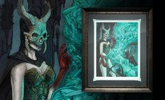 The Court of the Dead Outcast Daughter Premium Art Print is now available at Sideshow.com for fans of dark fantasy and Sideshow Collectibles.