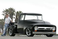 "Chip Foose on Instagram: ""Friday Vibes 😎🌴 📷 @joao_mantopix #foose #chipfoose #foosedesign #f100 #fordf100 #56f100 #fordtruck #fordtrucks #truck #trucks…"""