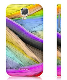 Take a look at this Blue & Yellow Elements Snap-On Case for Samsung Galaxy S4 by Luardi on #zulily today!