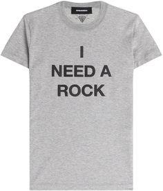 Dsquared2 T-shirt en coton imprimé