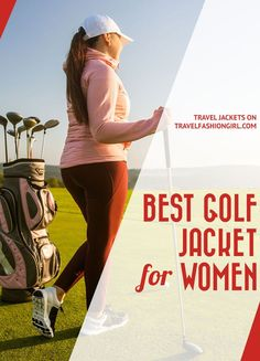 An early tee time sets you up for the day, but it can be chilly in the mornings. Find the perfect outer layer that's both stylish and won't impact your swing with our TFG picks for the best golf windbreaker jacket and cozy sweaters! #TravelFashionGirl #TravelFashion #TravelJacket #travelclothing #golfjacket #golffashion