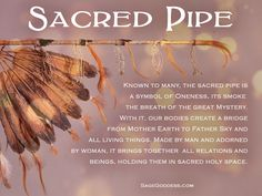 The sacred pipe, or Chanupa, can be found through many Native American tribes, and is still used in rituals today. In your ceremonies, what favorite offerings and tools do you use? Native American Prayers, Native American Wisdom, Native American Design, Native American Tribes, Native Americans, American Indian Decor, Indigenous Education, Medicine Wheel, Greatest Mysteries
