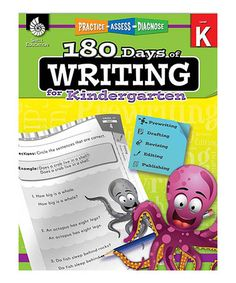 Look at this #zulilyfind! 180 Days of Writing for Kindergarten Workbook #zulilyfinds