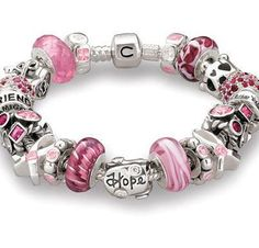 Charms!!! I love the pink!