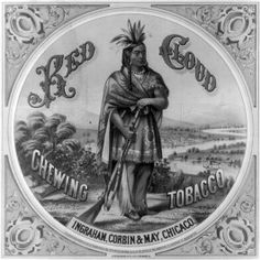 <p>Historic Chewing Tabacco Label.</p>