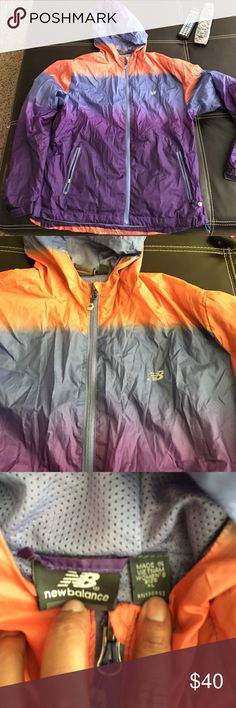 New Balance Women's Windbreaker Worn a few times. Excellent for the fall weather! New Balance Jackets & Coats