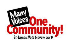 """@MPGMktg caputured the heart and soul of the St. James referendum with its """"Many Voices. One Community."""" campaign theme. Helping the district pass 2 referendum questions by substantial margins:  Question 1:  APPROVAL OF $23.95 Million SCHOOL DISTRICT BOND ISSUE Yes: 1474 No: 911 Question 2: APPROVAL OF $250/Pupil SCHOOL DISTRICT REFERENDUM REVENUE AUTHORIZATION Yes: 1643 No: 733"""