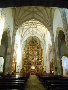 Iglesia de Santa María Magdalena. Aspecto general del interior.