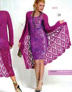 crochet cardigan for summer | ELEGANT spring / summer women long crochet cardigan
