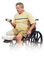 lower extremity amputation upper body exercise program ot