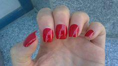 Fake nails with shining | Nail Art Ideas