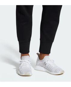 e0931e5860e88 Adidas NMD R1 STLT Primeknit Cloud White Mens Shoes Cheap Adidas Nmd