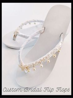 f1d9da9f1574 Starfish Wedding Flip Flops Wedding Shoes Bride Shoes Wedges Bride Flip  Flops Wedding Sandals Beach Wedding Shoes Bridesmaid shoes