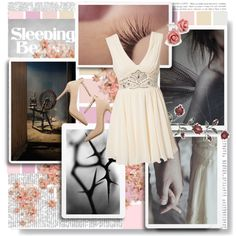 #327 Sleeping Beauty by little-rea on Polyvore featuring Lipsy and Disney