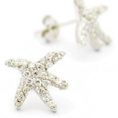 Crystal Starfish Posts $22   Gold or Silver Stud Earring   Light Years – Light Years