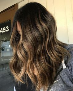 Amazing Balayage Ombre Tones with Shadow Roots 2017-2018