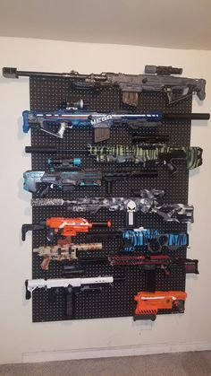 My Nerf wall