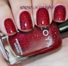 Zoya Blaze from the Holiday 2012 collection. Beautiful!