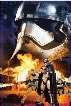 Our first promo image of Stormtroopers from the new Star Wars Episode VII - The Force Awakens movie.