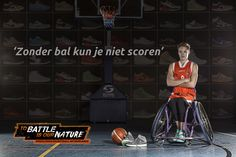 Bo Kramer - Wheelchair Basketball Netherlands 'To battle is our nature' Rolstoelbasketbal  ['Without the ball you can't score'] http://www.greatmatch.nl/avada_portfolio/nbb-rolstoelbasketbal-to-battle-is-our-nature/?utm_content=buffer41919&utm_medium=social&utm_source=pinterest.com&utm_campaign=buffer#prettyPhoto