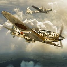 """. . . O Nakajima Ki-61 Hien foi um caça usado pela Força Aérea do Exercito Imperial Japonês, """"Dainippon Teikoku Rikugun Hikōsen..."""