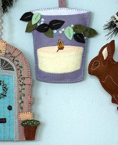 Sweet Home Ornament Set Pattern