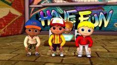 Cabeza Hombros Rodillas y Pies - LittleBabyBum Canciones infantiles HD 3D